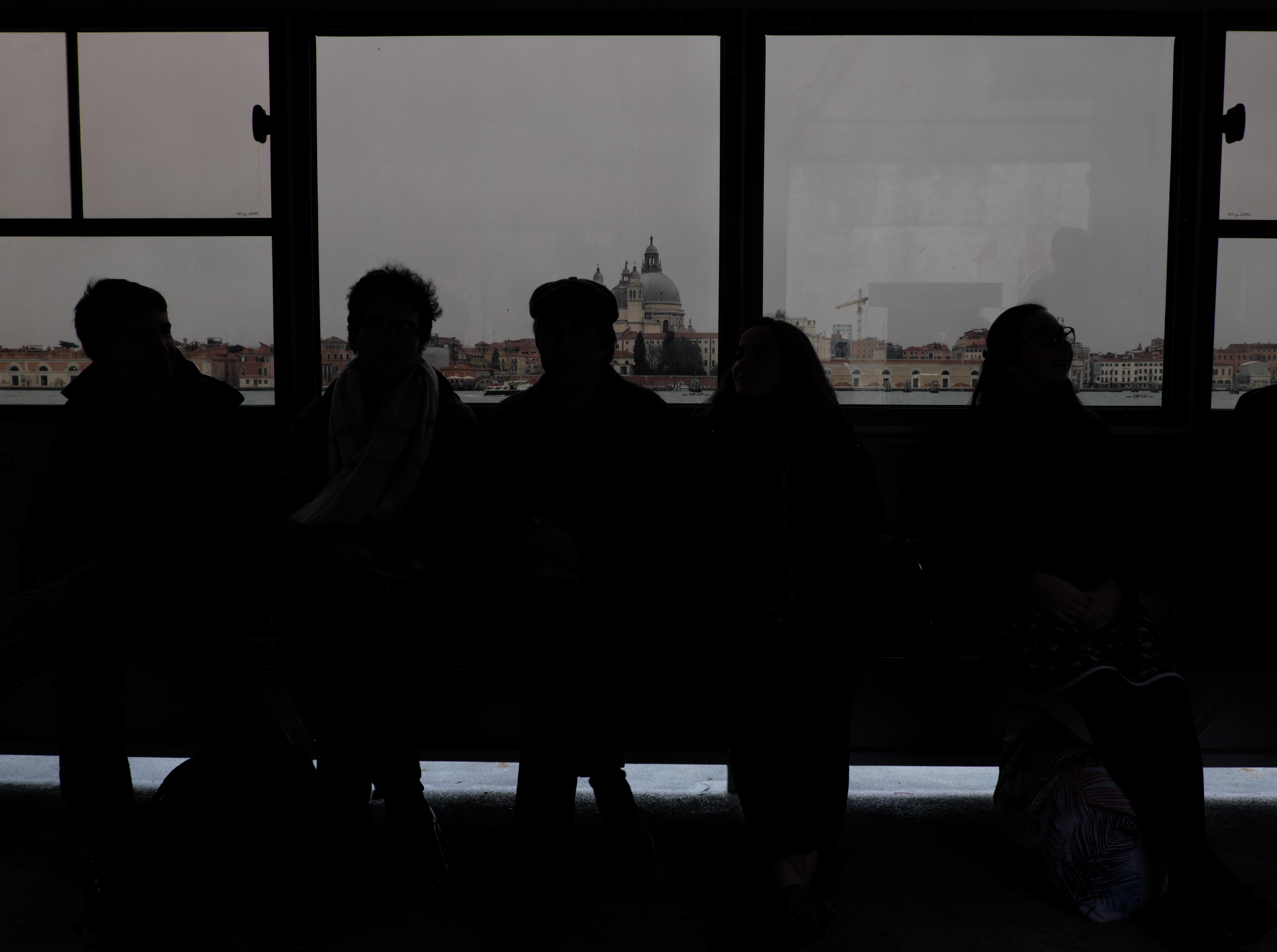 Silhouette a Venezia