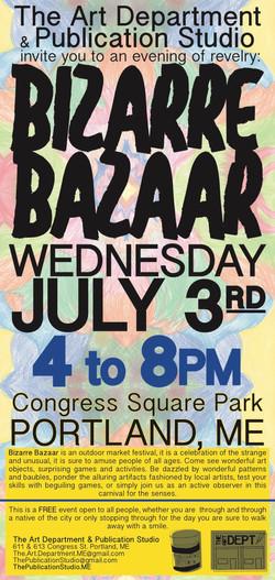 Bizarre Bazaar 1