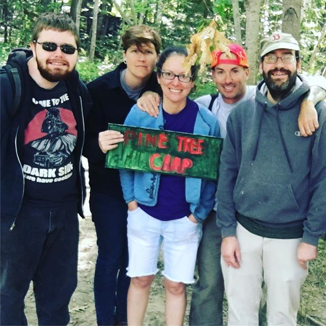 That's a wrap on PINETREE CAMP, Robin's