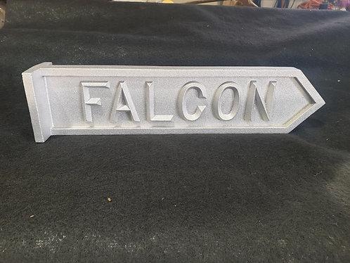 Falcon Street Sign