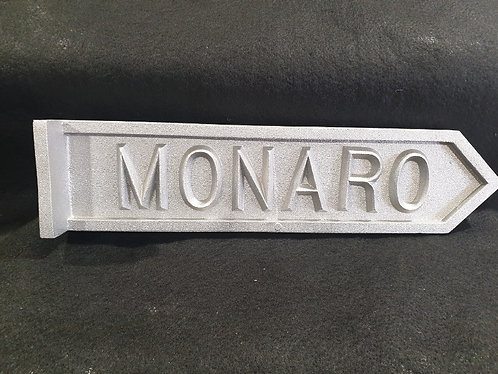 Monaro Street Sign