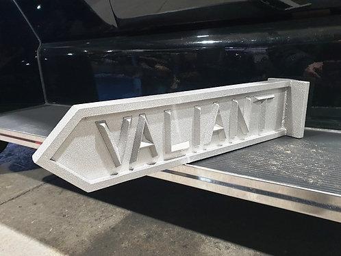 Valiant Street Sign