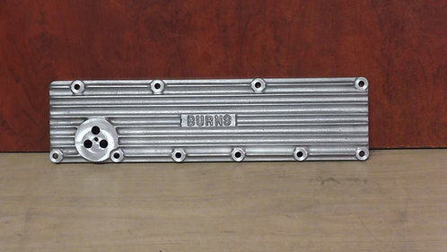 Burns Model A finned sideplate