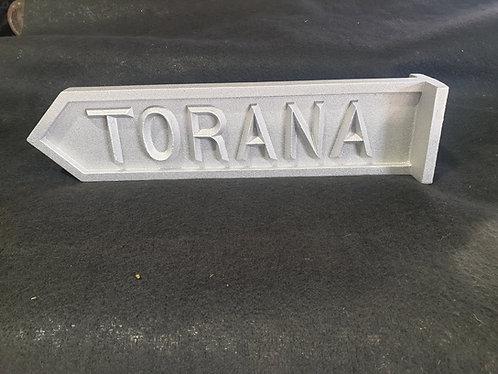 Torana Street Sign