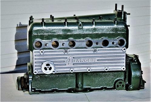 Model A Ford 4 Banger finned  aluminium sideplate