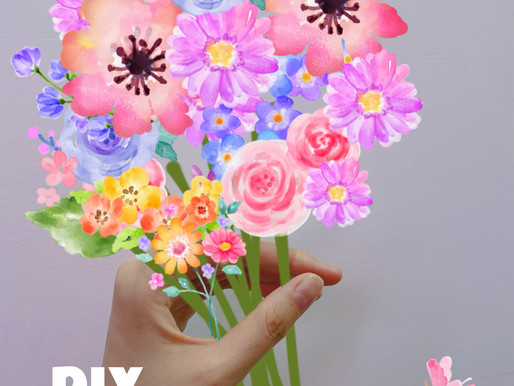 How to DIY Spring Flowers & Edit Travel Pictures