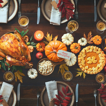 Thanksgiving AR Stickers this Month