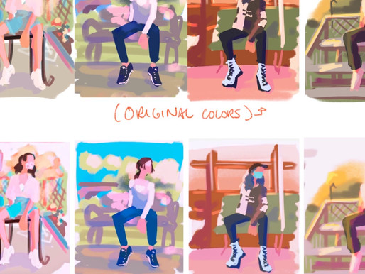 STORYBOARDS: CREATING QUICK COLOR KEYS