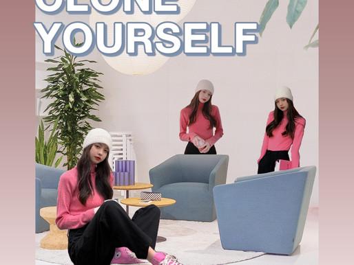 Clone Yourself Photo Editing Tutorial | BeautyPlus Custom Sticker