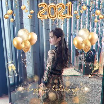 🎉🎍HAPPY NEW YEAR 2021🎍🎉- SNSにupしたくなる可愛い新年のお祝い写真加工法 -