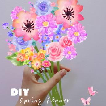 春のお花&旅の写真をDIY!