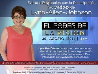 Invitación a la conferencia con Lynn Allen