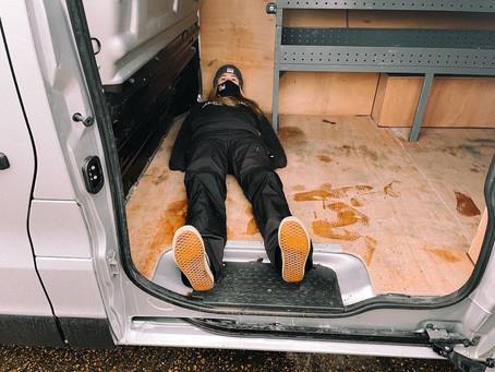 Insurance Day Killed the Van Life Vibe.