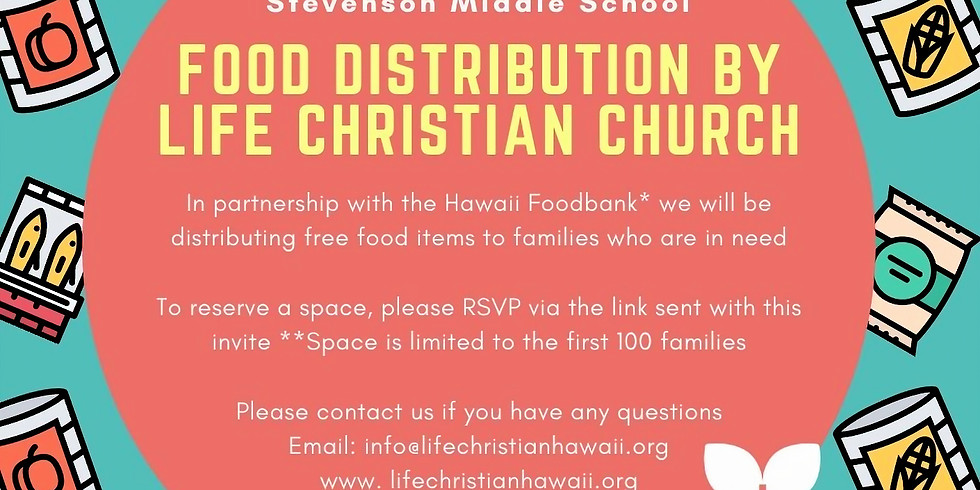 July 3 Food Distribution