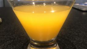Citrus Mango Martini