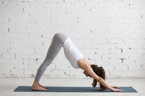 Carte cadeau 10 heures de yoga