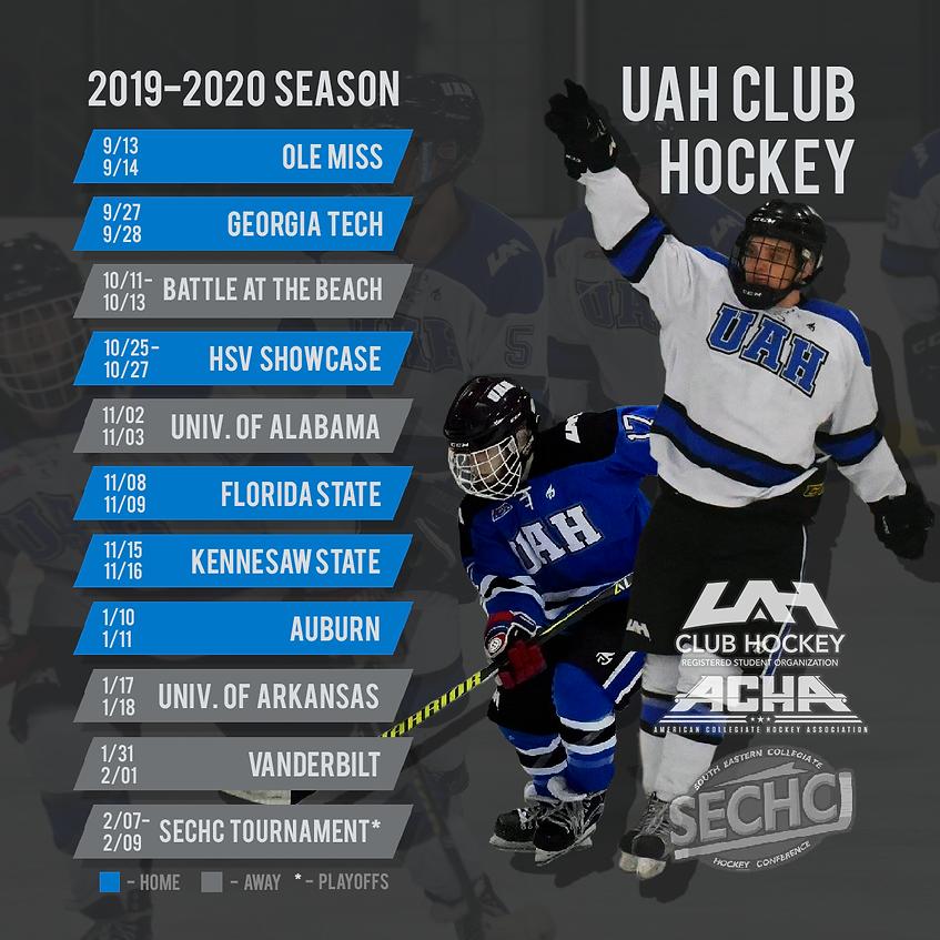 2019-2020 Season Schedule