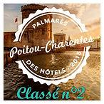 Palmarès des hôtels Poitou-Charente