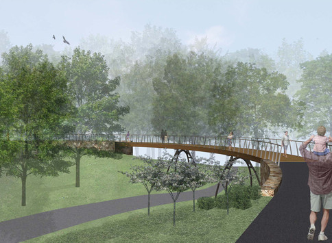 2014 Award of Excellence in Design by NYC Public Design Competition for NYBG's East Gate Entranc