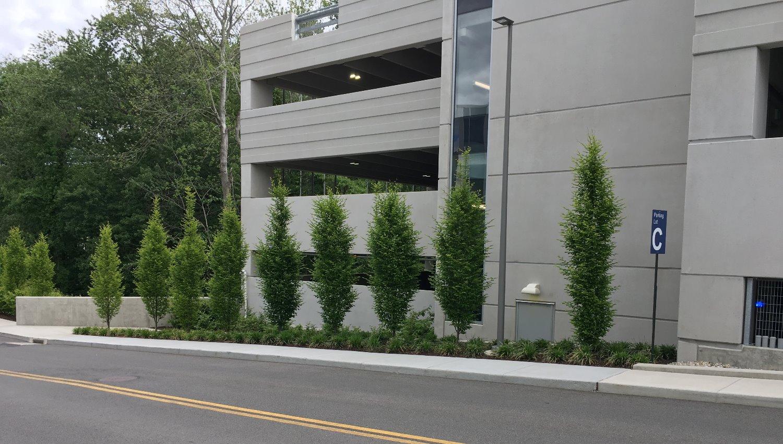 PAMC Parking Garage