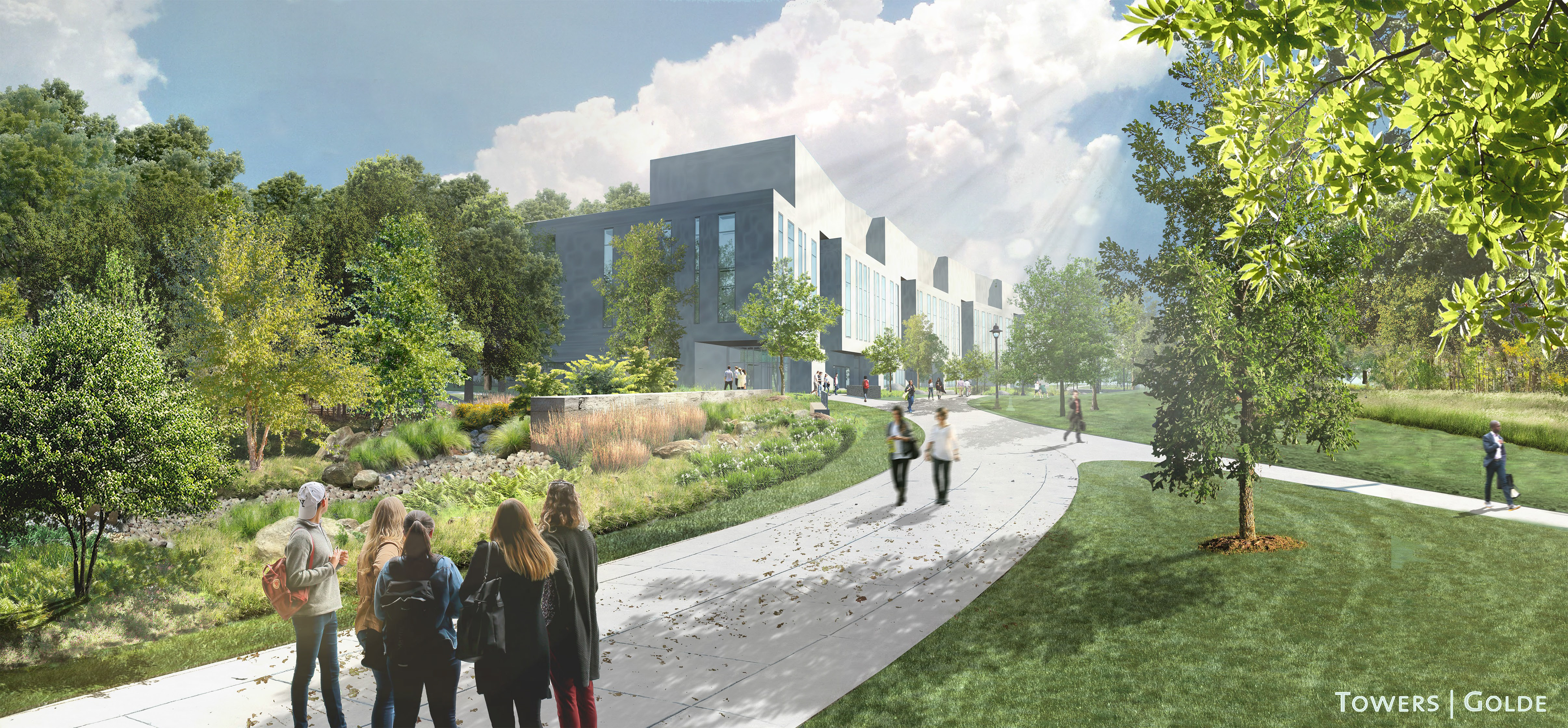 UConn Woodland Corridor