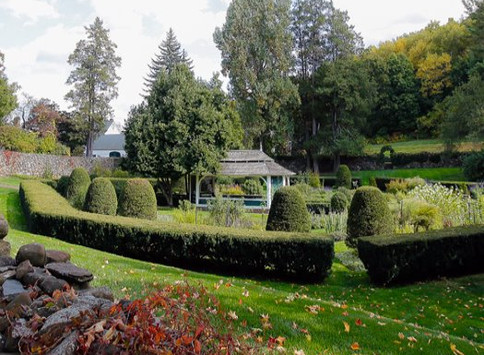 2015 CT-ASLA Landscape Legacy Award for the Sunken Garden at Hill-Stead Museum