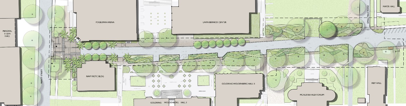 McAlister Way proposed plan