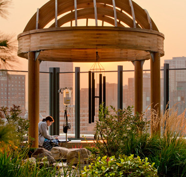 2014 Healthcare Design Magazine Article on Smilow/Hollander Healing Garden