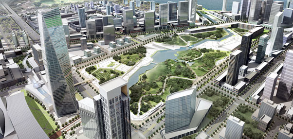 New Songdo City