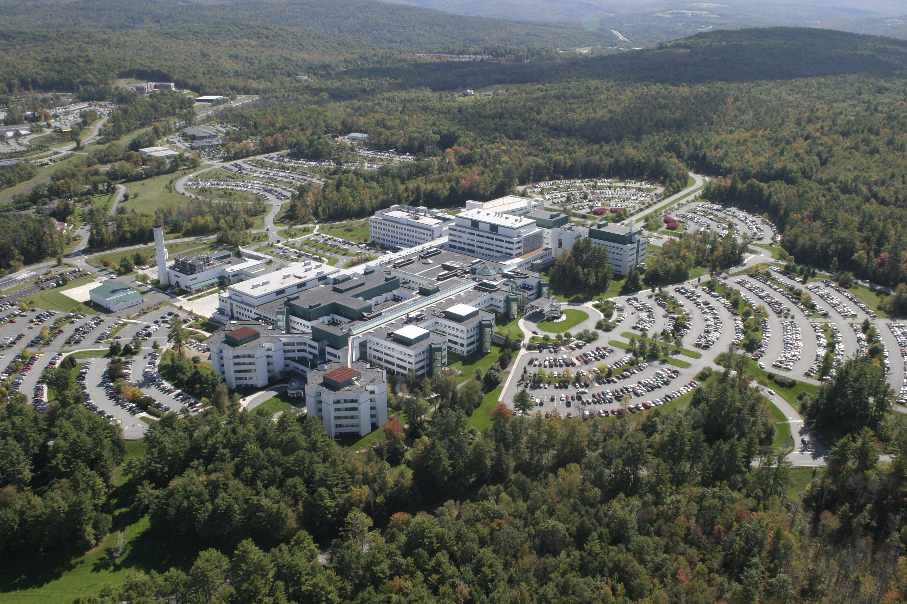 DHMC Aerial View