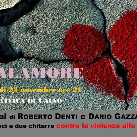 MALAMORE, un recital contro la violenza