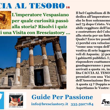 CACCIA AL TESORO, Quiz n. 16
