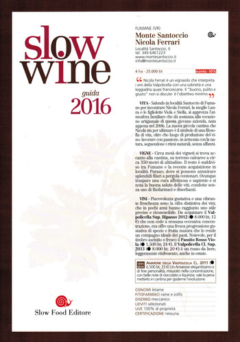 Slow Wine Guida 2016