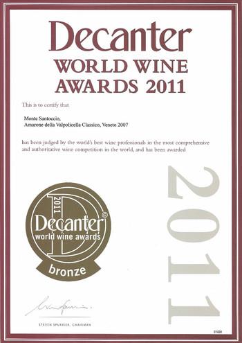 Decanter Award 2011