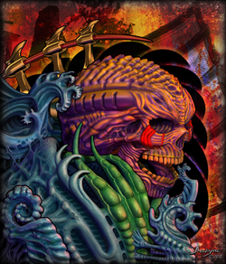 Biomechanical Skull