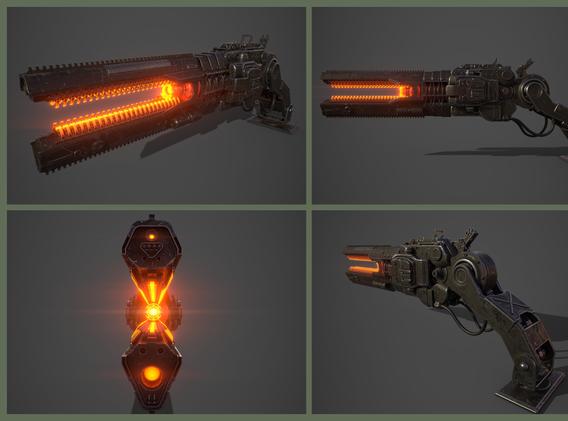 LASER GUN / FRANEKSTEIN FOREARM