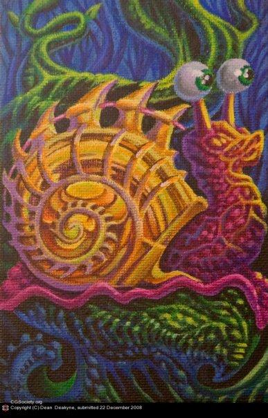 Bio Organic Snail