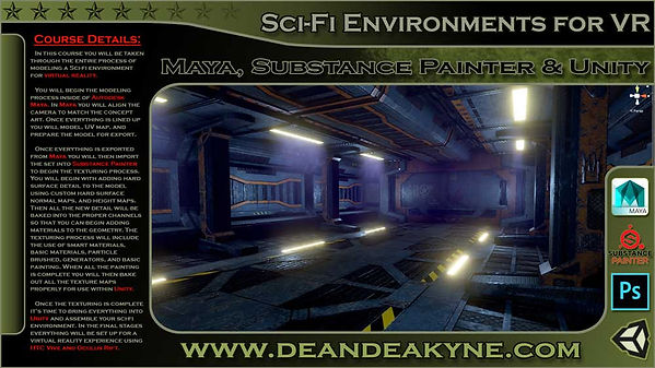Sci-fi Environment Creation for Virtual Reality tutorial.