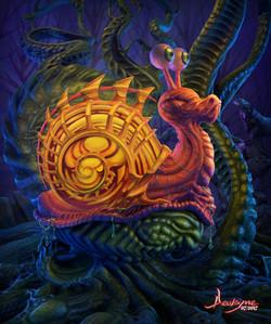 Bio Mechanical Snail