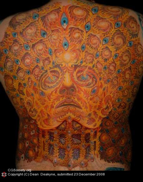 Alex Grey Back All