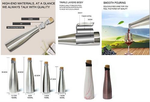 Sports Bottles - Stainless stell