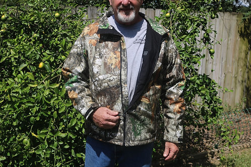 Heated Camo Jacket ( RealTree Fabric )