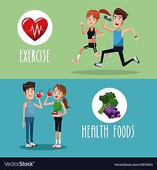 brochure-exercise-food-healthy-vector-13