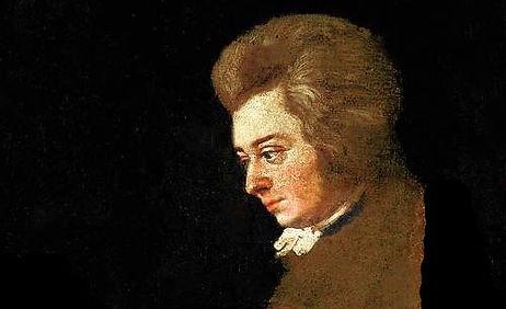 W.A. Mozart par Joseph Lange 1782 - Myth