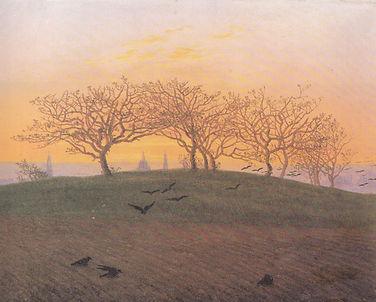 Brahms - Requiem allemand - C. D. Friedrich Paysage