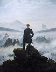 Caspar David Friedrich Le Voyageur conte