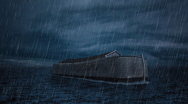 noah's arc in the rain