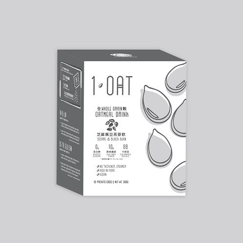 芝麻黑豆|1 OAT 全穀燕麥飲
