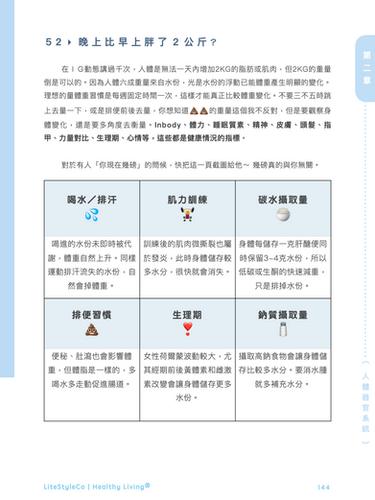 第二章 體重改變 體態改造實用指南