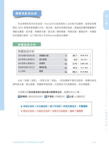 第二章 inbody體脂檢測 體態改造實用指南